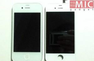 iPhone 4S en witte iPhone 4