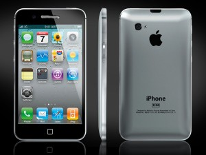 iPhone 5 metalen achterkant